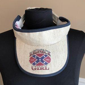 """""""Redneck Girl"""" visor"""